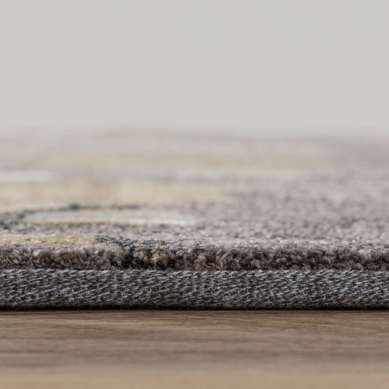 Sydney custom quality rug side view